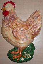 Giessbild Huhn