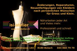 Nähatelier-Gutschein