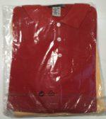 Polo-Shirt gelb-rot 1