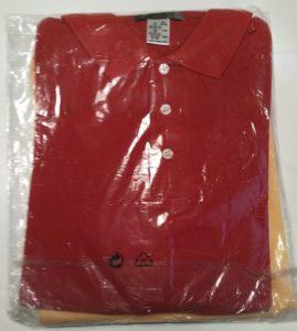 PoloShirt gelb-rot 1