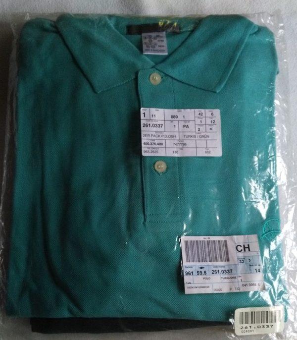 PoloShirt kürkis-grün