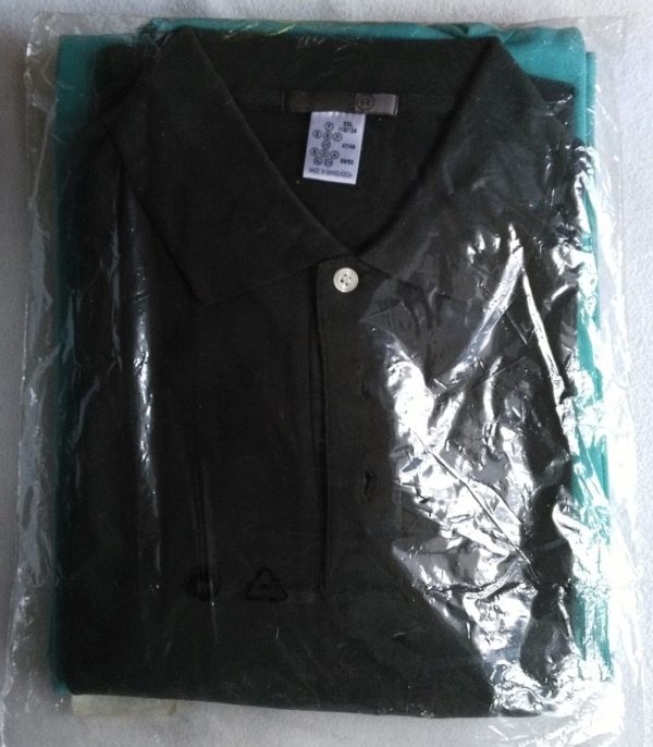 PoloShirt kürkis-grün 1