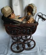 Puppenwagen 2 Puppen