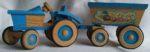 Traktor blau 1
